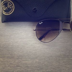 Brown Ray Ban Aviators Brand New worn once